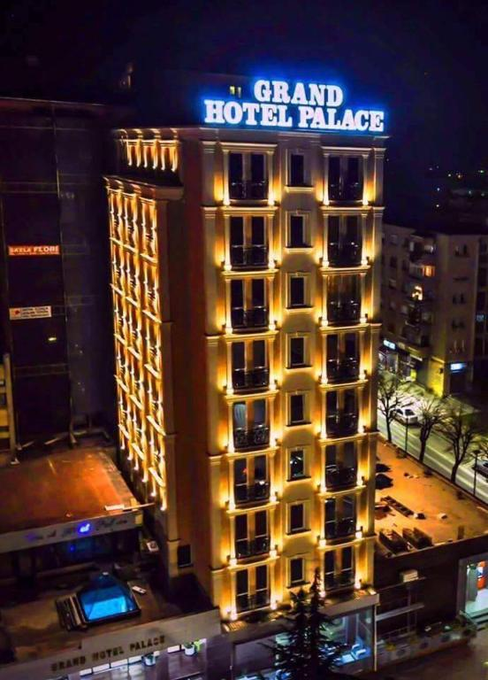 Grand Hotel Palace Korca Albanien Korce Booking Com