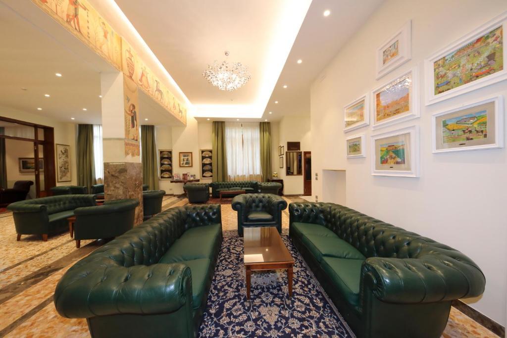Area soggiorno di Hotel Moderno