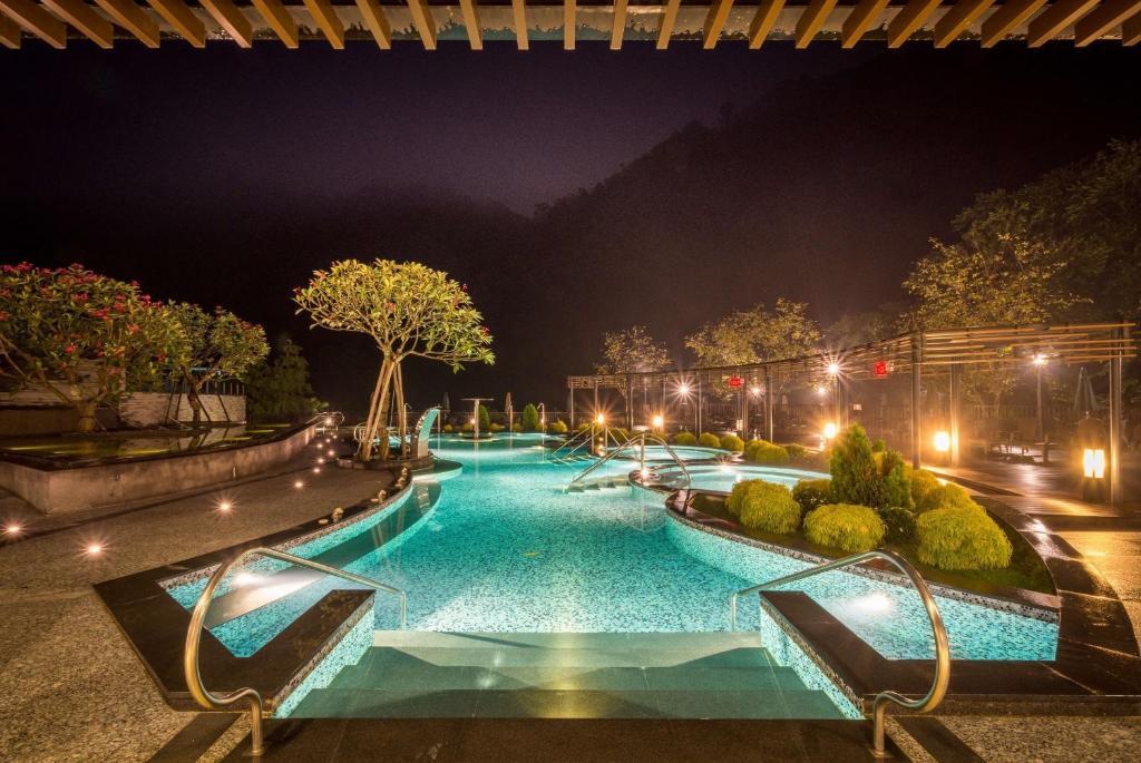 南庄雲水度假森林游泳池或附近泳池