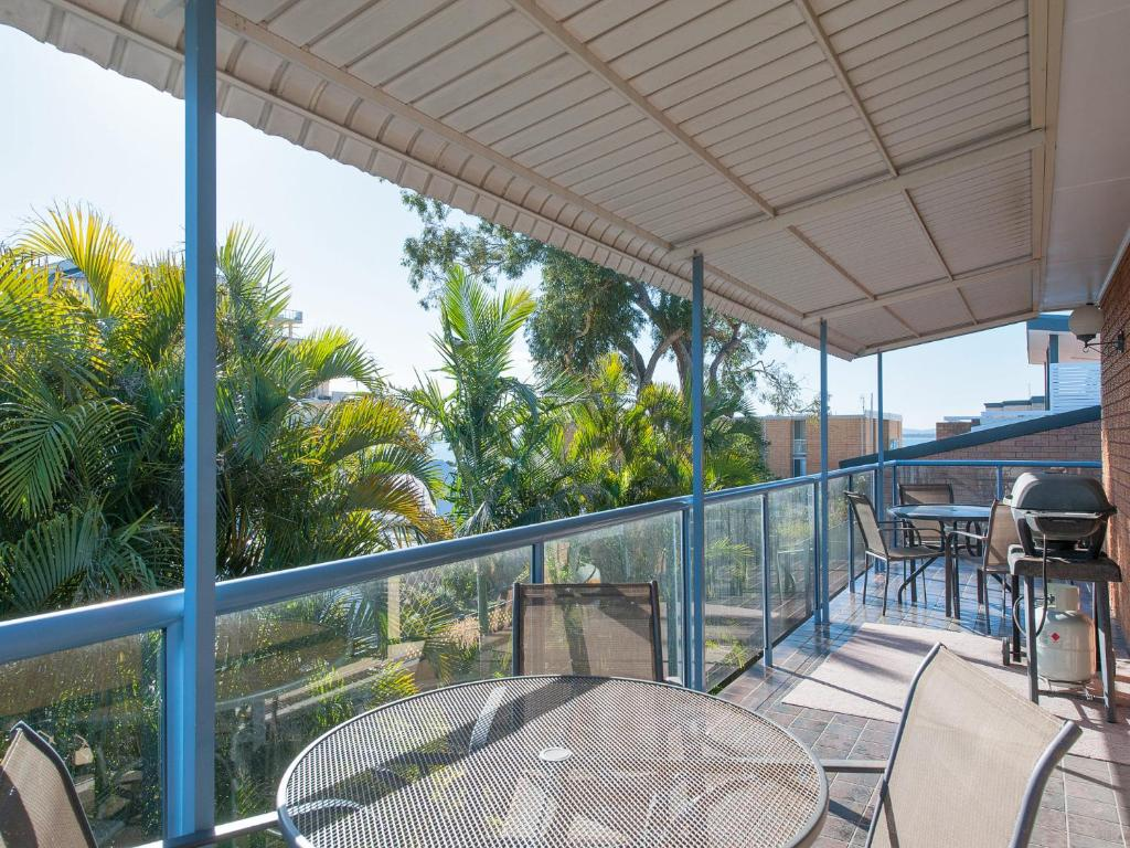 A balcony or terrace at Ronald Avenue, 45, Villa Floridiana