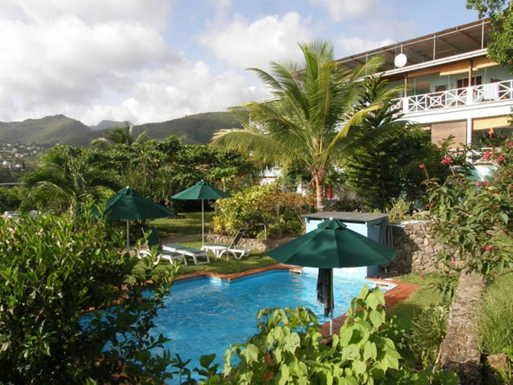 A view of the pool at Tamarind Tree Hotel or nearby