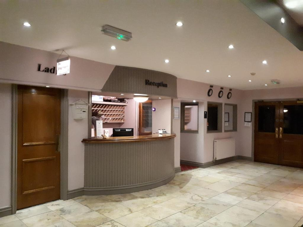 The lobby or reception area at The Highfield Hotel