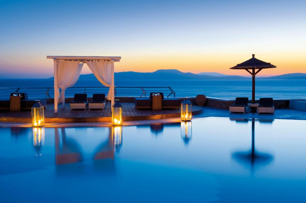 The swimming pool at or near Mykonos Grand Hotel & Resort