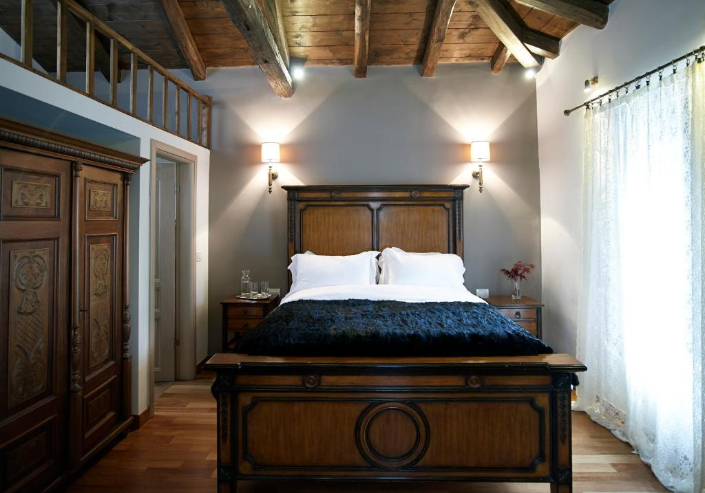 A bed or beds in a room at Villa Vager