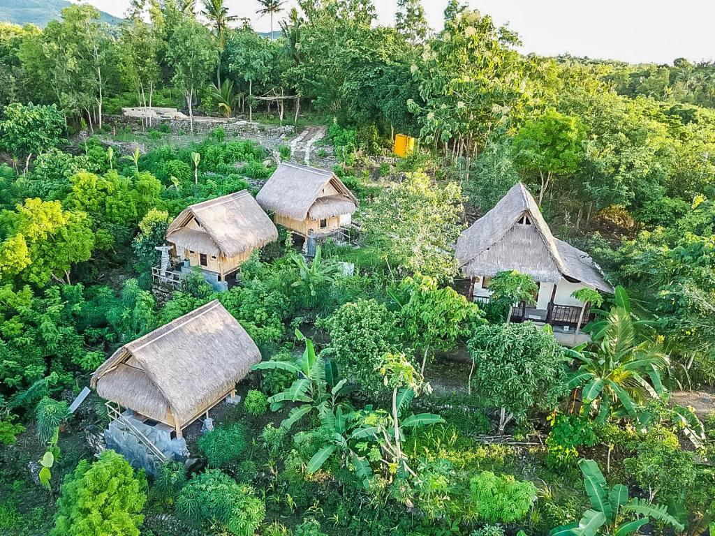Echo Alam Nusa Lodgeの鳥瞰図