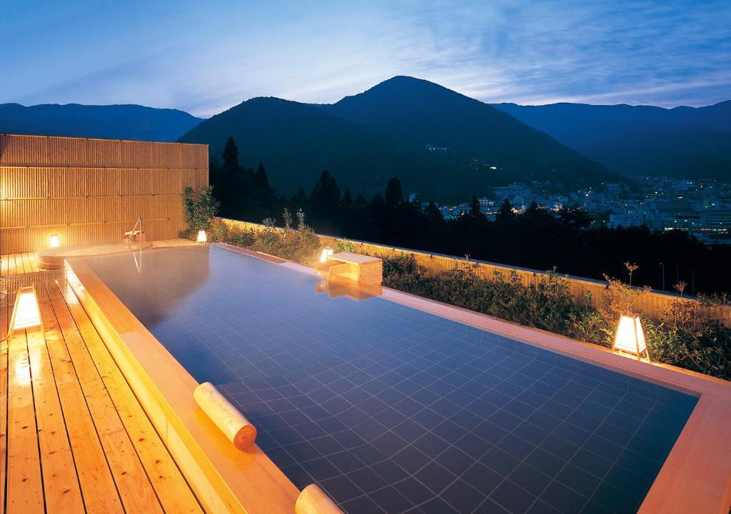 The swimming pool at or near Hotel Kusakabe Armeria