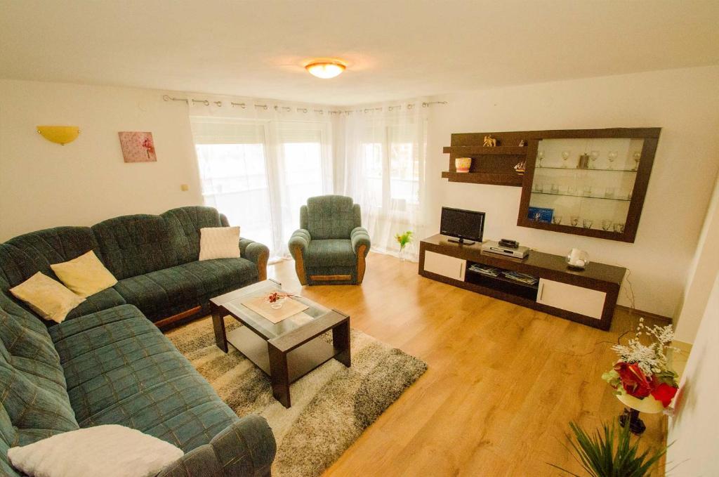 Area soggiorno di Apartment Edita