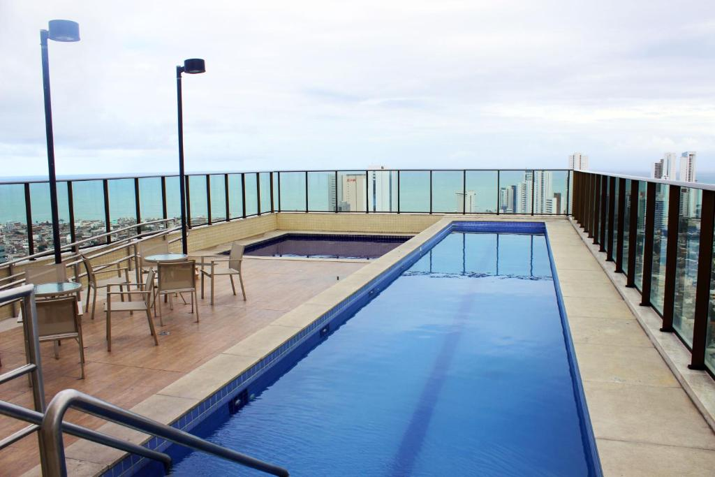The swimming pool at or close to Beach Class Excelsior