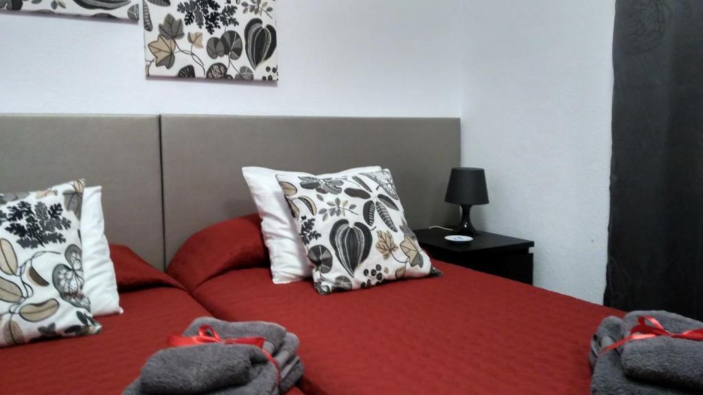 Cama o camas de una habitación en Margall Home