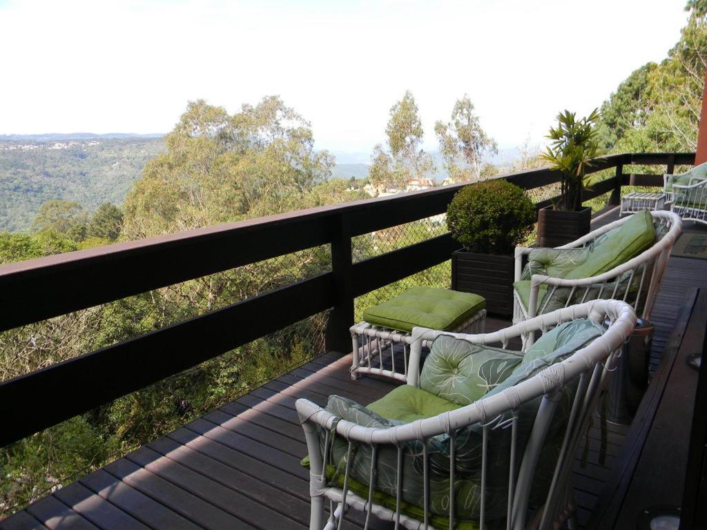 A balcony or terrace at Apartamento Resort Knorr Ville
