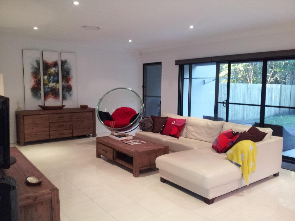 A seating area at Our Byron House