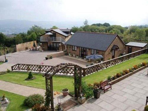A bird's-eye view of Winchfawr Lodge