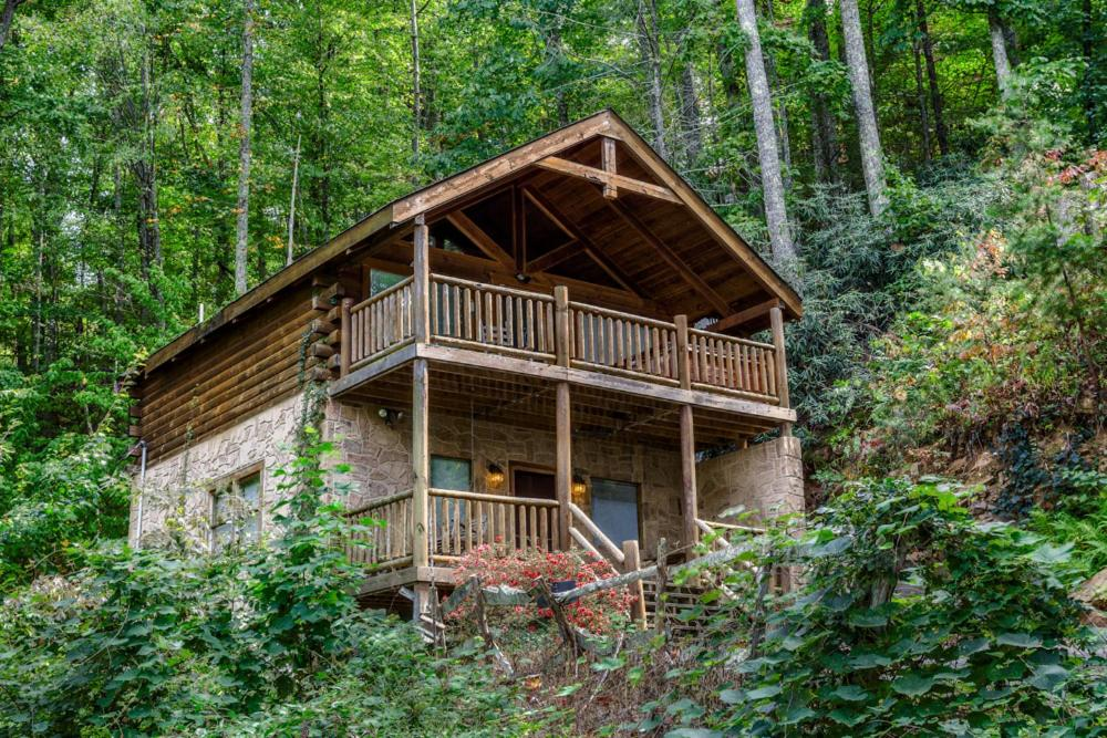 """A """"True"""" Mountain Cabin A VIEW TO A THRILL -Private"""