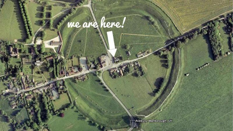 A bird's-eye view of Silbury House
