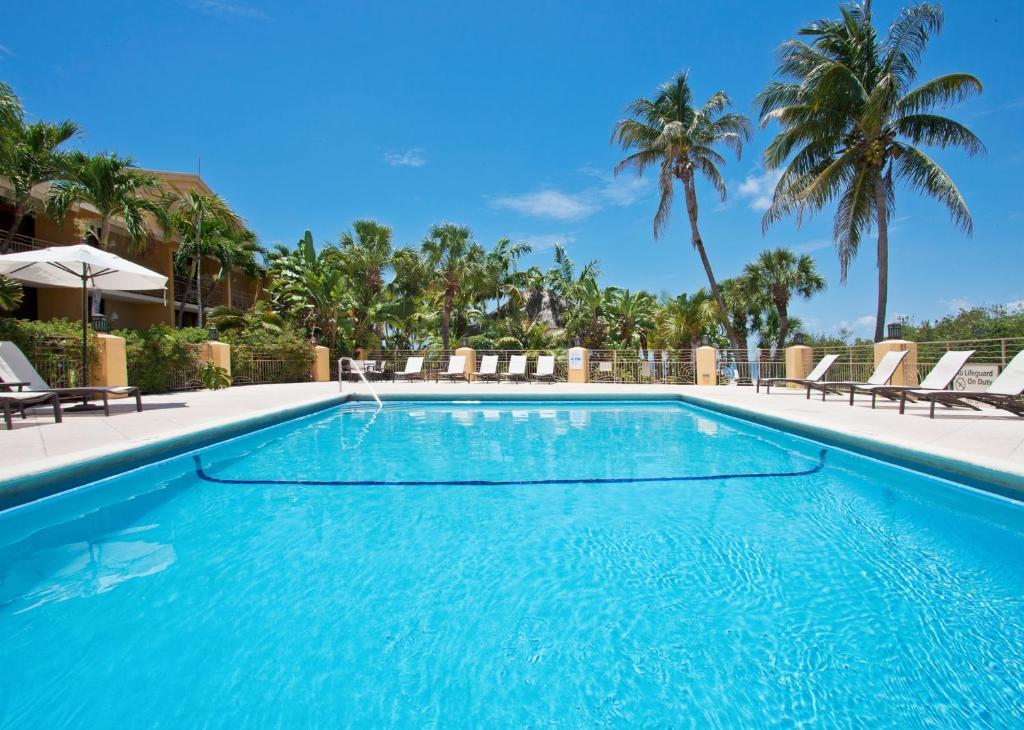 The swimming pool at or near Hampton Inn Key Largo