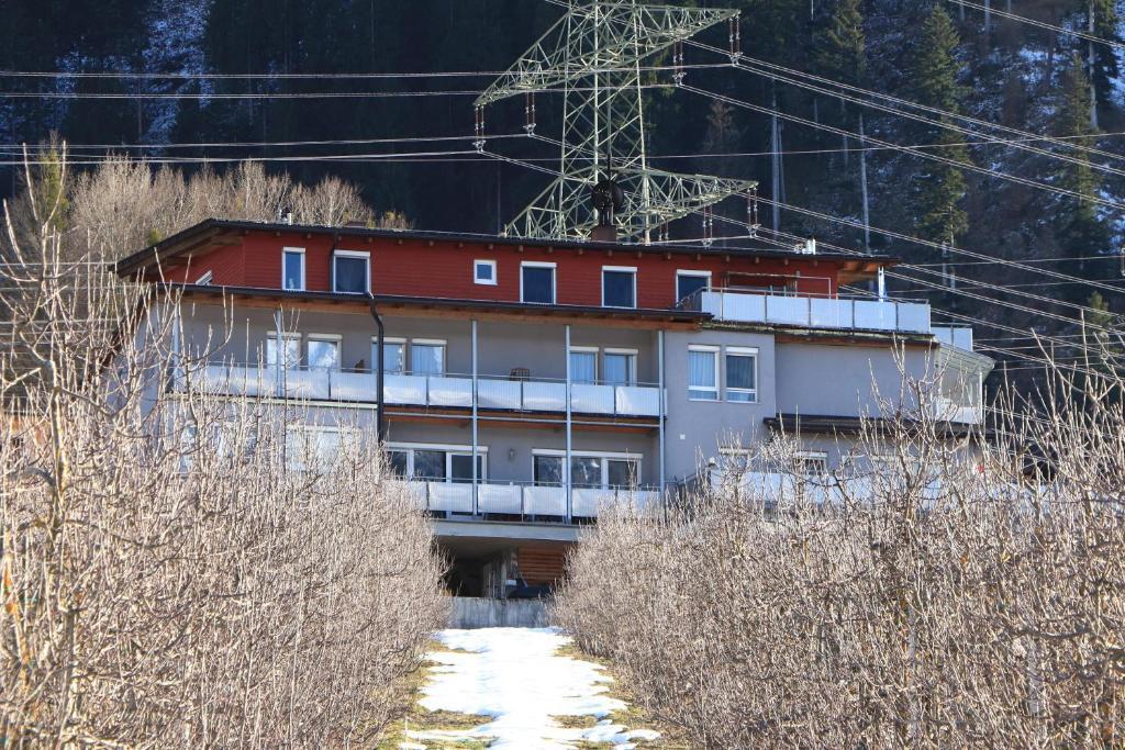 Gästehaus Possard im Winter