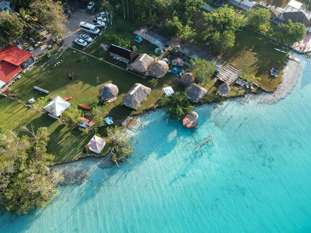 A bird's-eye view of Ecocamping Yaxche