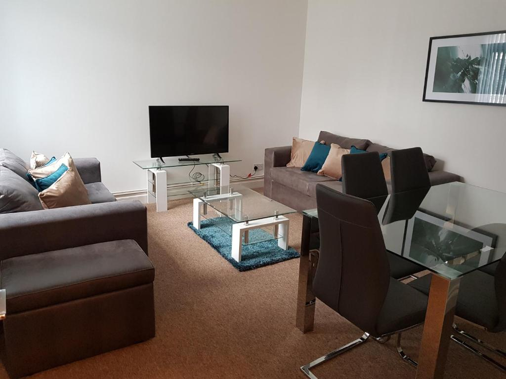 A seating area at Norfolk House
