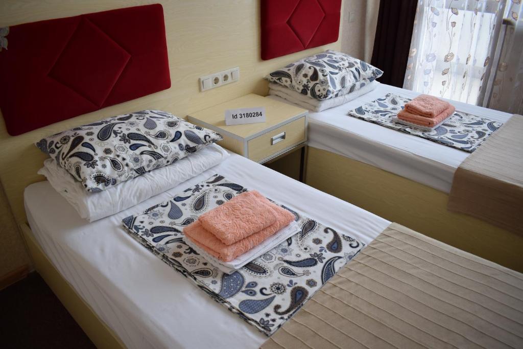 Кровать или кровати в номере Apartment Undina