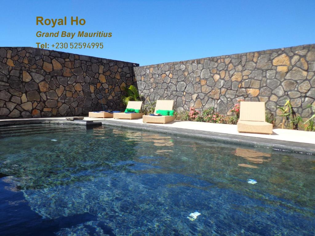 The swimming pool at or near Royal Ho
