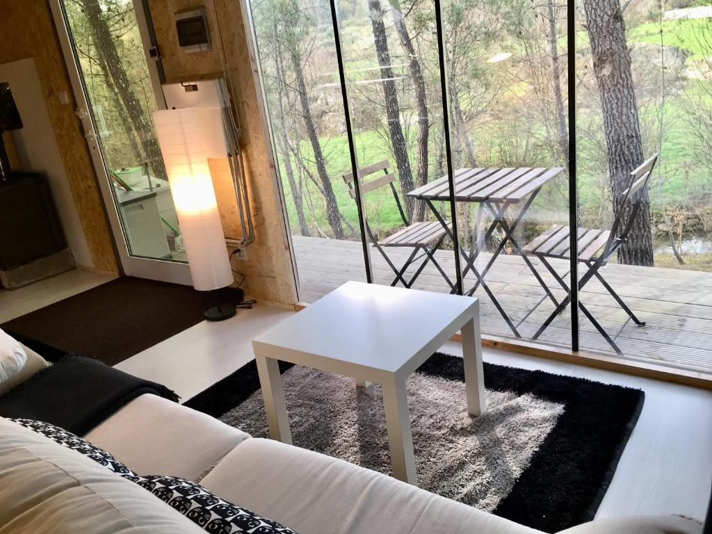 A seating area at Relax Container