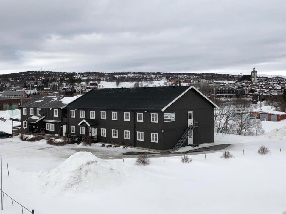 Rørosvidda Hotell om vinteren