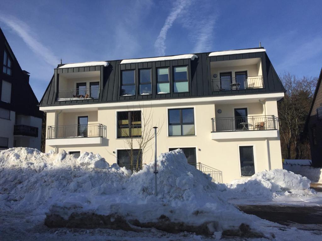 Ferienquartier Winterberg during the winter