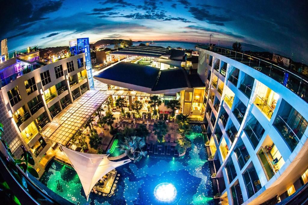 A bird's-eye view of The Kee Resort & Spa