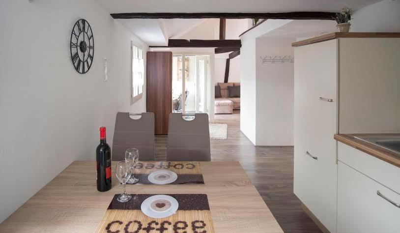 Küche/Küchenzeile in der Unterkunft Residenz 4 Jahreszeiten
