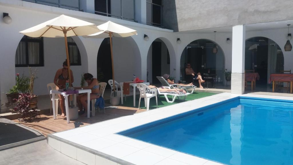 The swimming pool at or close to La Maison de Lydia