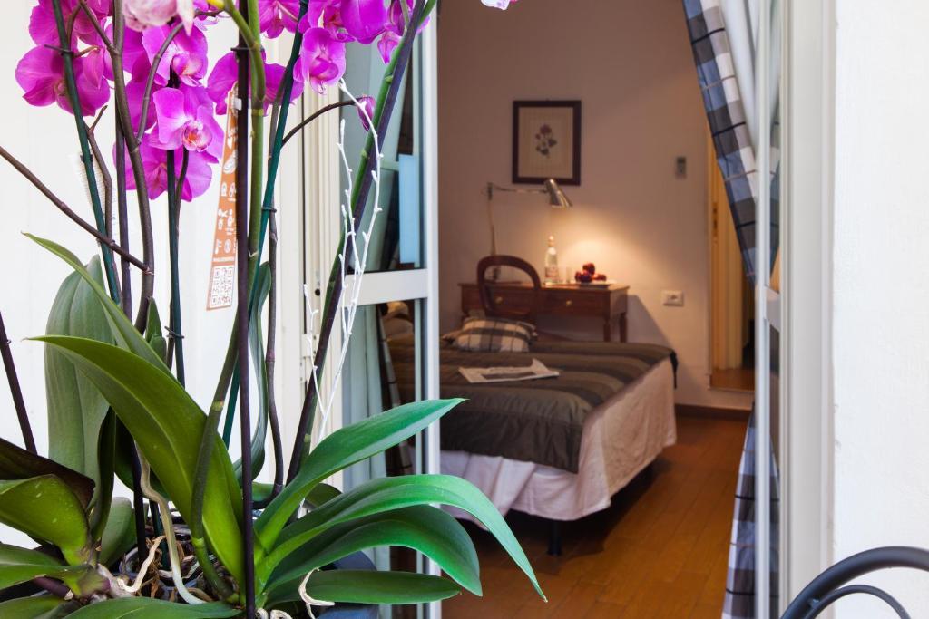 Uma área de estar em Hotel De Petris