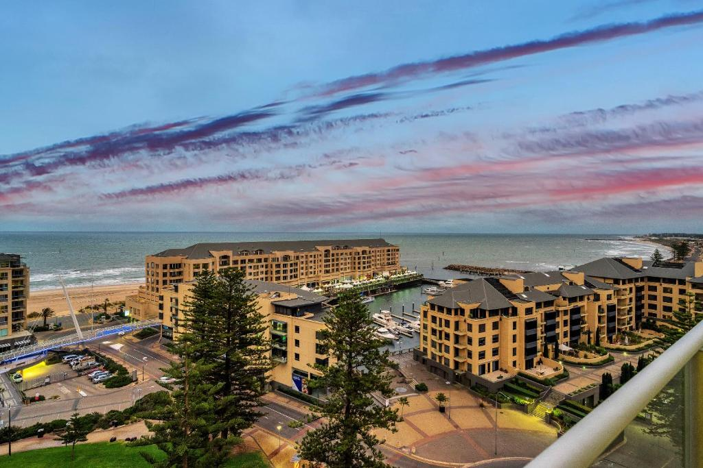 A bird's-eye view of Glenelg Skyline Beachfront Penthouse, Adelaide
