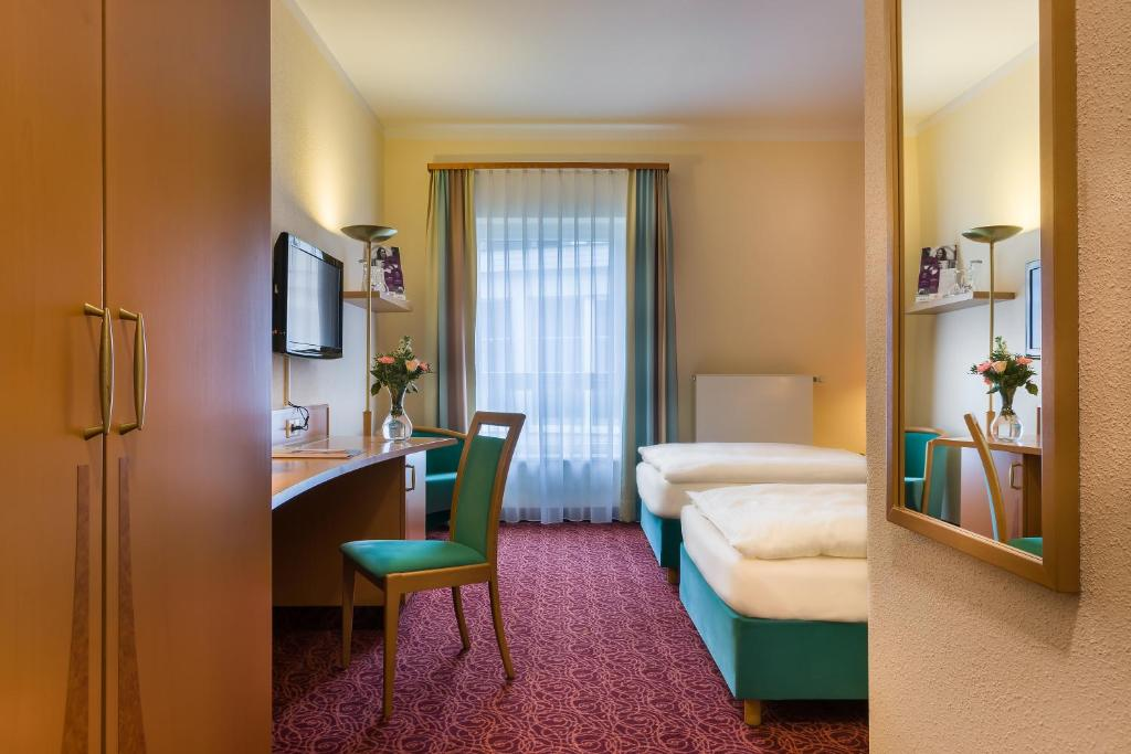 Гостиная зона в Mercure Hotel Ingolstadt