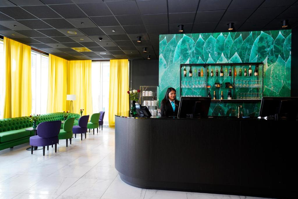 Pub eller bar på Thon Hotel Alta