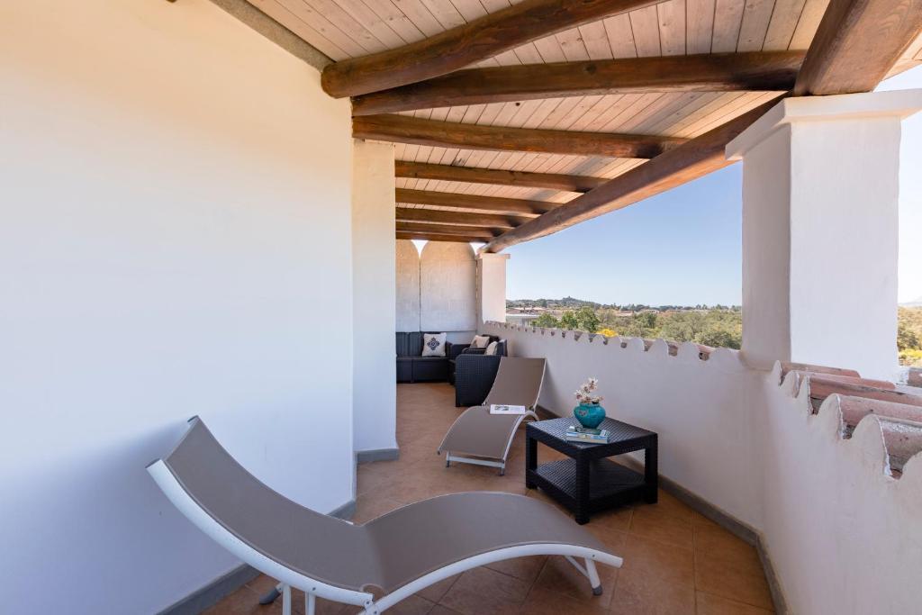 Balcone o terrazza di Hotel Poseidonia