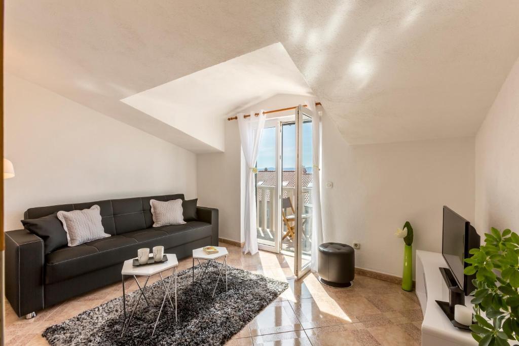 Posezení v ubytování Apartments Ivka Bol