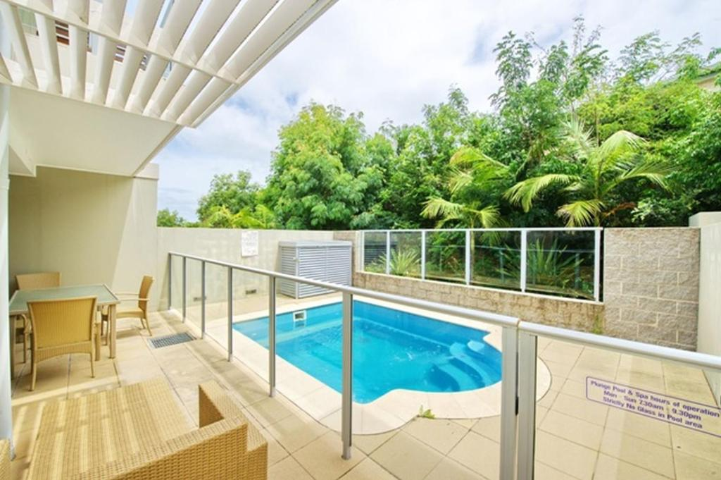 The swimming pool at or near Pacific Blue, Villa 519