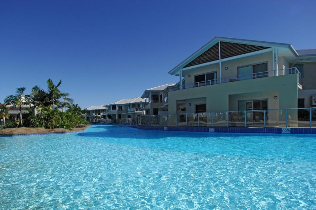 The swimming pool at or near 'Pacific Blue' Pool, spa and more available in complex!