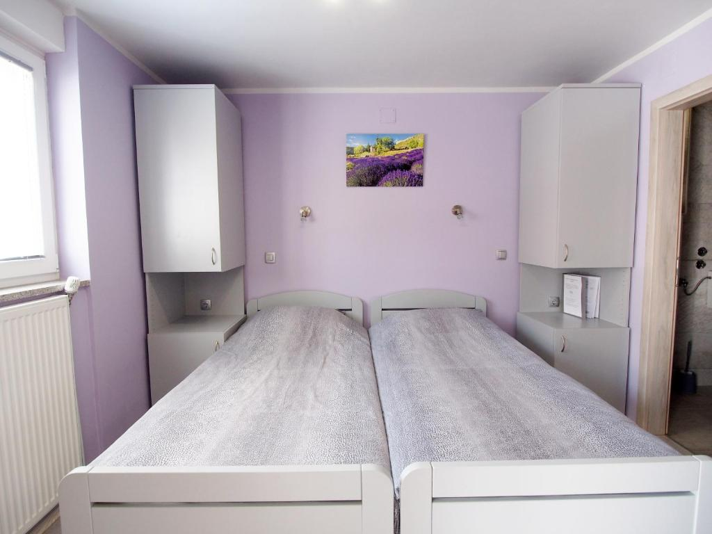 A bed or beds in a room at Apartman i sobe Pavek