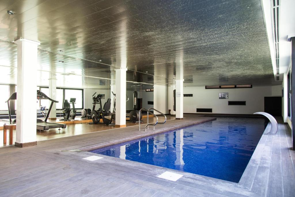 Apartment with INDOOR pool