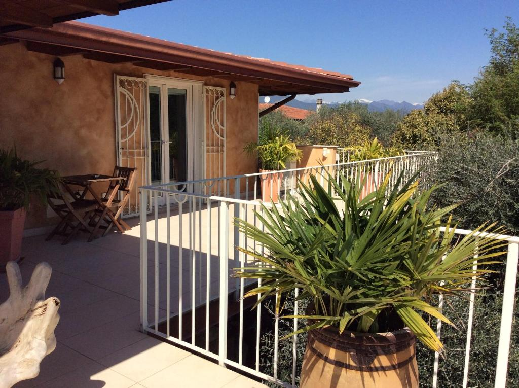 Balcone o terrazza di Villa Gardasee