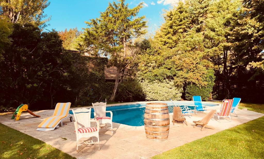 The swimming pool at or near Lo del Colo