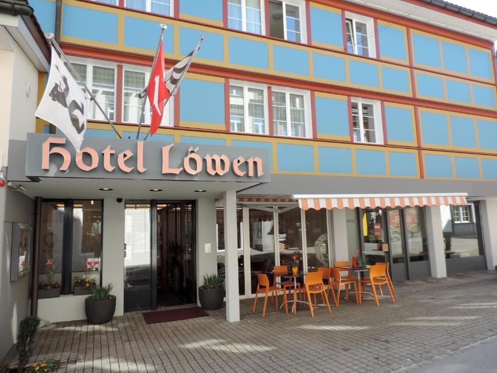 Hotel Lowen Appenzell, Switzerland