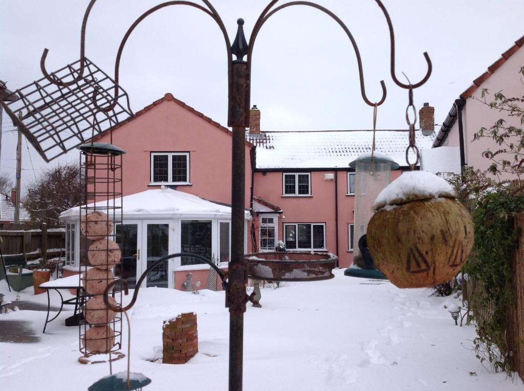 Bramley Cottage during the winter