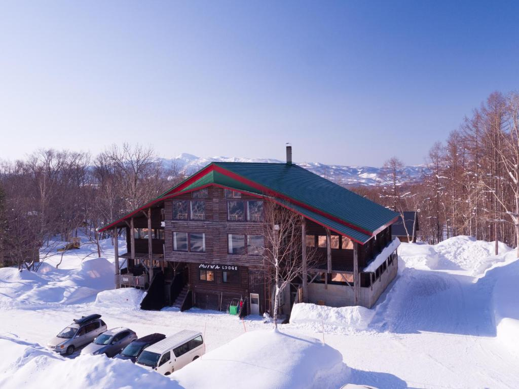 Moiwa Lodge during the winter