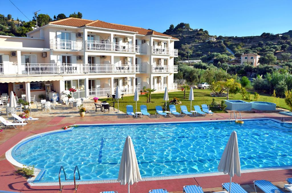 The swimming pool at or near Elea Hotel Apartments and Villas