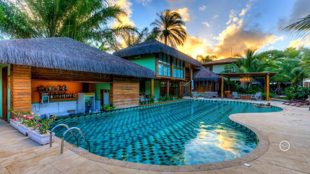 A piscina localizada em Terra Boa Hotel Boutique ou nos arredores