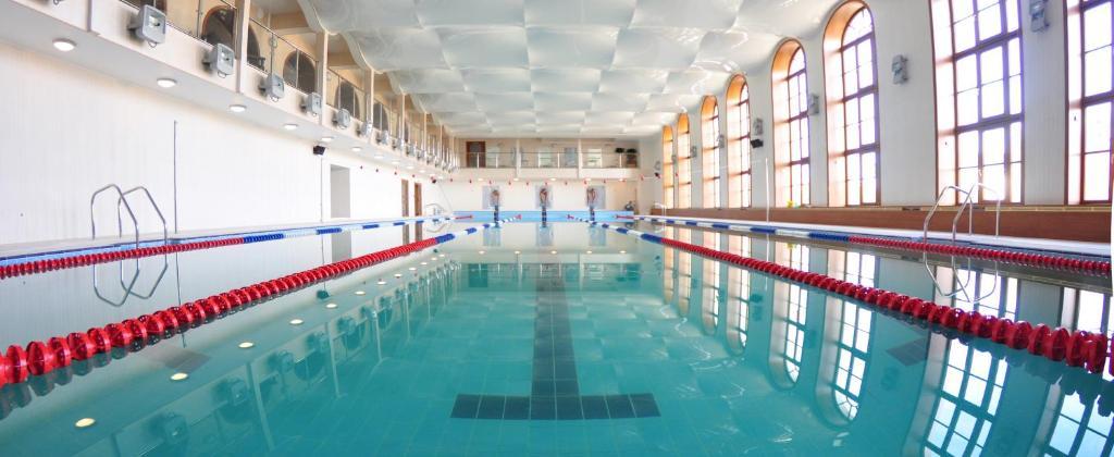The swimming pool at or near Art Hotel Nikolaevsky Posad