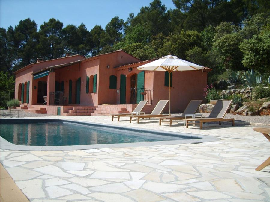 The swimming pool at or near The Provence Villa