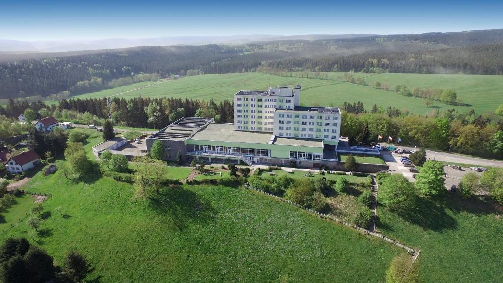 A bird's-eye view of Ferien Hotel Rennsteigblick